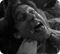 Choking woman