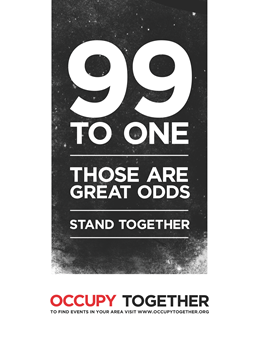 99 to 1. Those are good odds. Stand together.