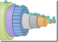 Diagram of Fiber Optic Cable