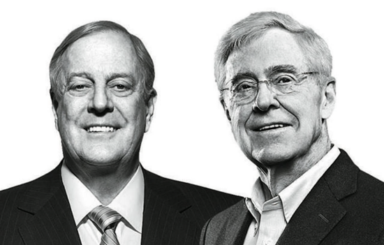 Koch brothers - Charles Koch and David H. Koch